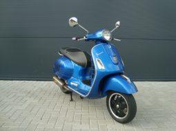 Vespa GTS 300ie Super 2014 blauw